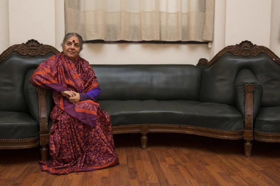 Conferencia: Vandana Shiva sobre los retos ante el cambio climático