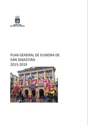 Plan General de Euskera de San Sebastián 2015-2019