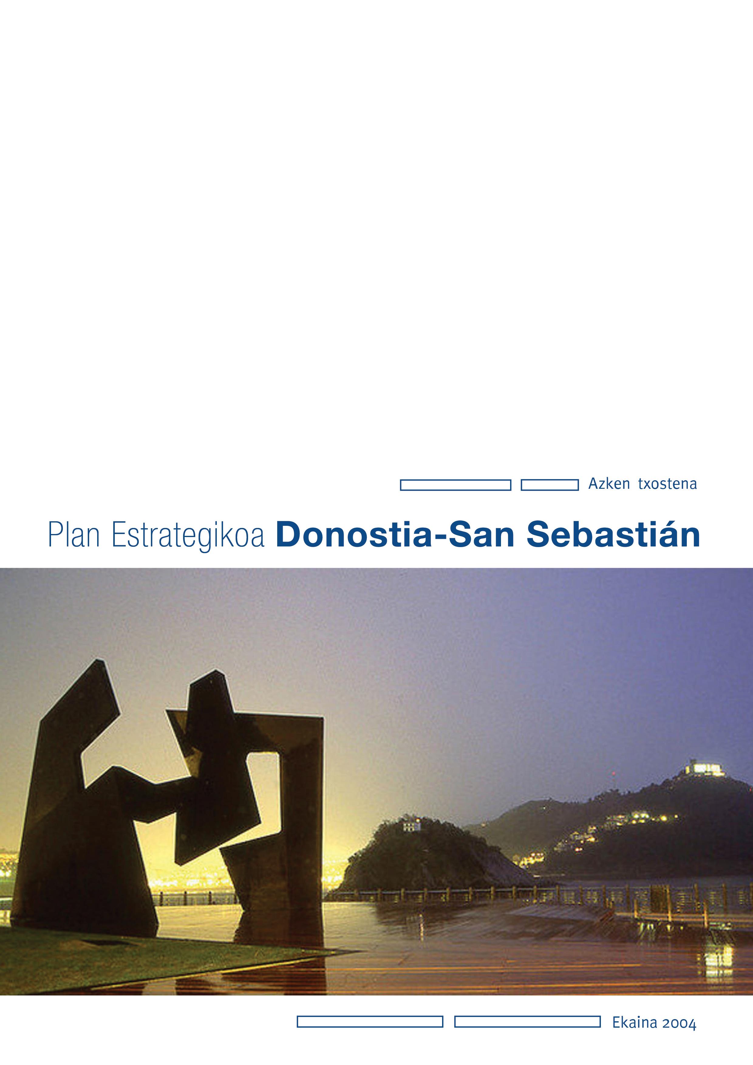2010 Donostiako Plan Estrategikoa. Azken txostena