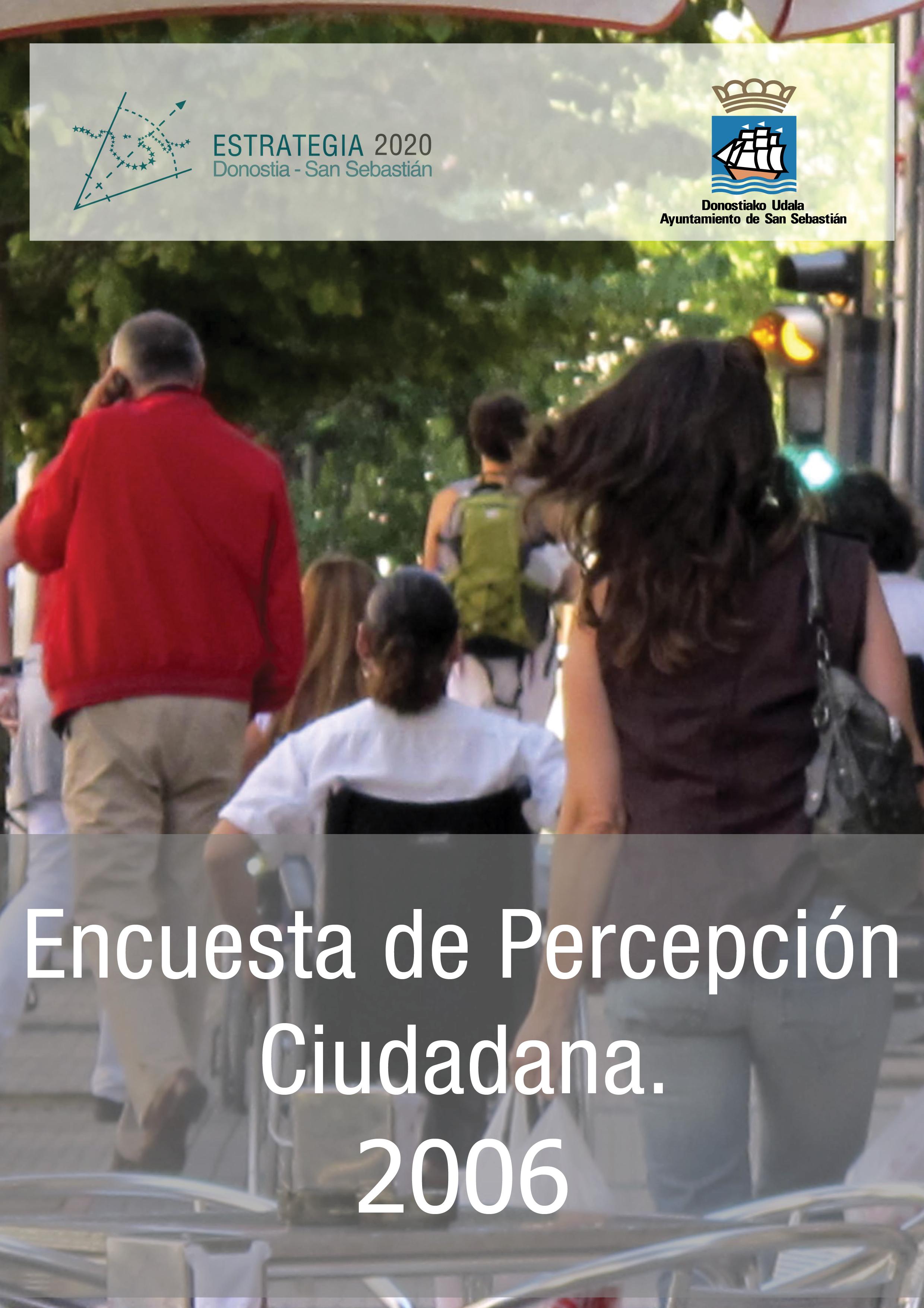 Encuesta de Percepción Ciudadana. 2006